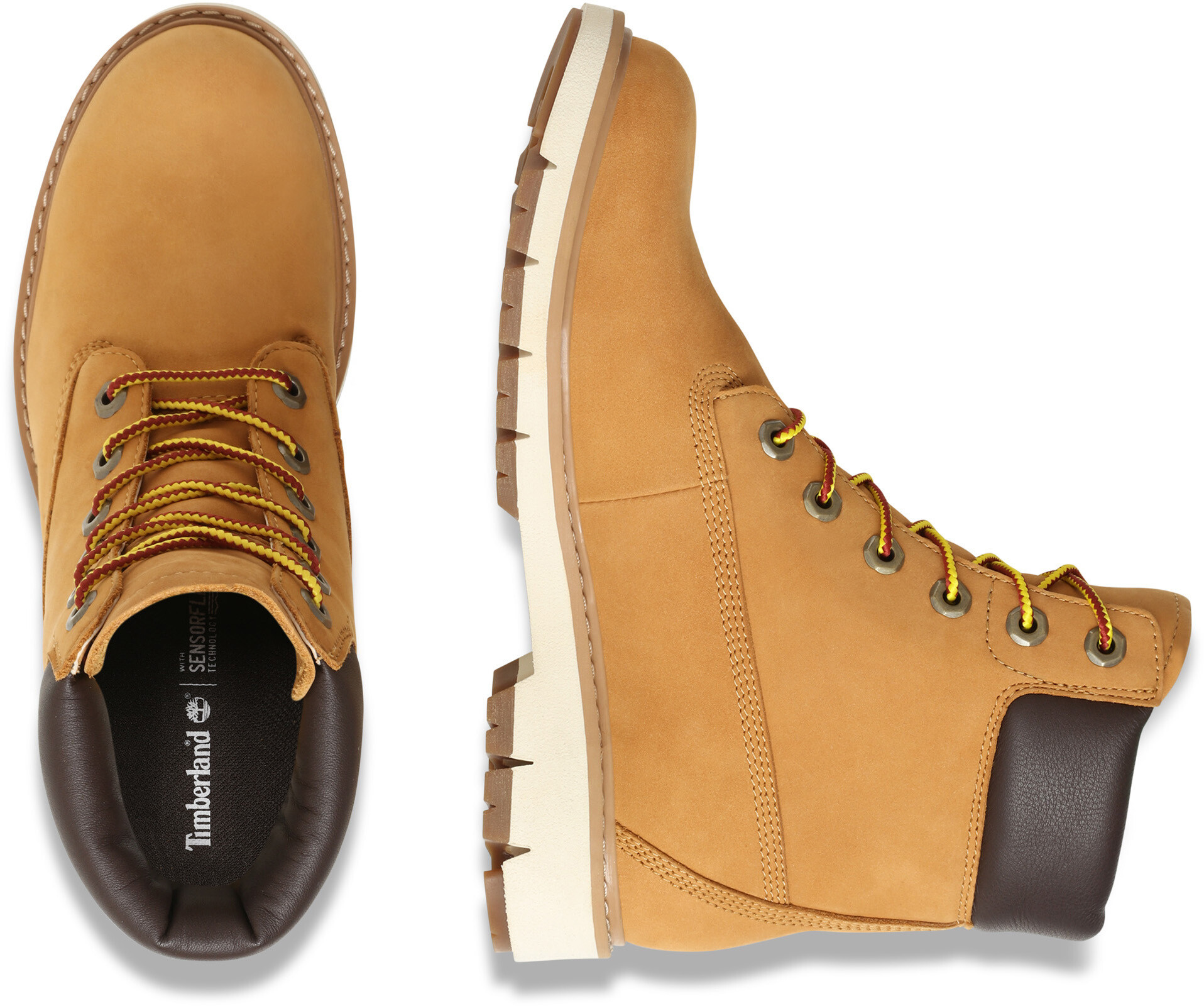 Timberland Lucia Way WP Boots 6 Femme, wheat nubuck sur